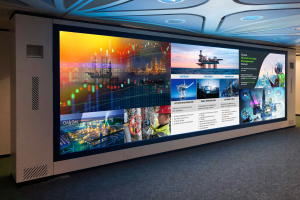 Barco partners with leading tech suppliers to deliver bespoke audio-visual solution for oil field services company.